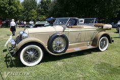 1926 Duesenberg Model A Dual Cowl Phaeton - (Duesenberg Automobile & Motors Company, Inc. Auburn, Indiana,1913-1937)