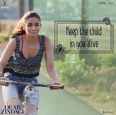 Alia Bhatt for Dear Zindagi image Bollywood Quotes, Bollywood Songs, Strong Quotes, True Quotes, Qoutes, Alia Bhatt Dear Zindagi, Dear Zindagi Quotes, Filmy Quotes, Movie Dialogues