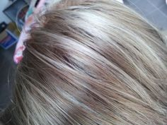 dark ash blonde with silver highlights - Google Search