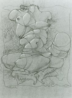 Hans Bellmer. Drawing