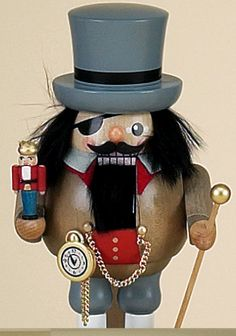Herr Drosselmeyer with his Nutcracker
