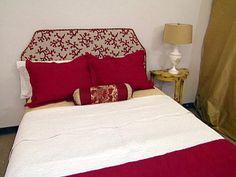 Create a Custom Headboard Slipcover : Rooms : Home & Garden Television