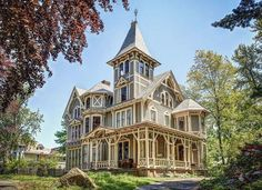 Victorian Stick House in Connecticut
