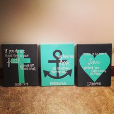 I made these this week on 8x10 canvases