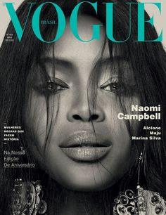 Magazine photos featuring Naomi Campbell on the cover. Naomi Campbell magazine cover photos, back issues and newstand editions. Vogue Covers, Vogue Magazine Covers, Fashion Magazine Cover, Fashion Cover, Naomi Campbell, Linda Evangelista, Peter Lindbergh, Christy Turlington, Top Models