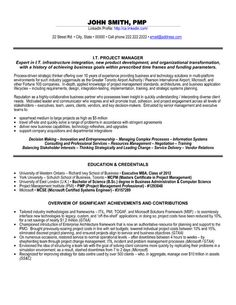 assistant it project manager resume career tips and resumes pinterest project manager resume