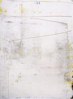 Gerhard Richter, White, 2006, 119 cm x 88 cm, Oil on paper