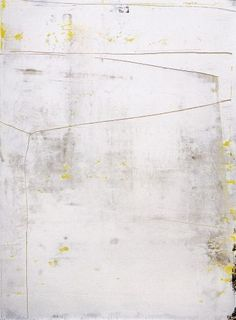 justanothermasterpiece: Gerhard Richter, White, 2006, 119cm x 88cm, Oil on paper.