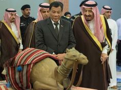 Philippine and Saudi leaders discuss labor, anti-narcotics President Of The Philippines, War On Drugs, Virtual Assistant Services, Greatest Presidents, Walkabout, Political Science, Foreign Policy, Presidential Election, Saudi Arabia