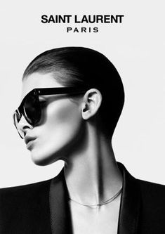 The Essentialist - What's Hot In Fashion Advertising: Yves Saint Laurent Eyewear Ad Campaign Fall/Winter 2012/2013