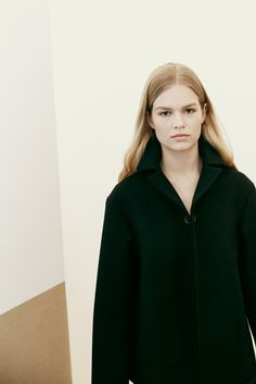Style - Minimal + Classic: Anna Ewers backstage Jil Sander F/W 2014, photographed by Paolo Musa