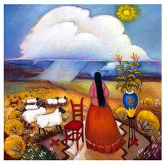 Cloud Walk ~ Linda Carter Holman