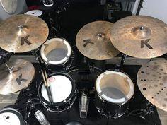Drum Cases, Zildjian Cymbals, Drum Music, Drum Kits, Custom Guitars, Drummers, Van Halen, Indie Music, In A Heartbeat