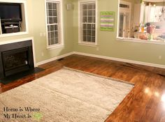 Who knew you could do your own Plywood Floors & have them look this beautiful?