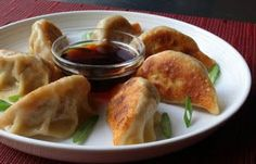 Potstickers – For When You Can't Decide Between Fried together with Steamed Dumplings - Easy Recipe