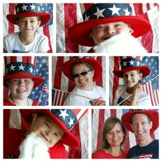 michelle paige: 4th of July Photo Booth