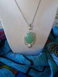 VALENTINES SALE...NEW Blue Chalcedony 925 Silver by BESTBUYONLINES, $23.00