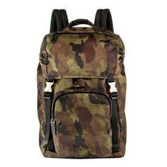 #Prada #Cammo #Backpack