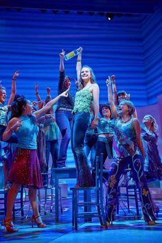 Mamma Mia! at the Novello Theatre. New cast 2014-2015. Photo: Brinkhoff/Mögenburg