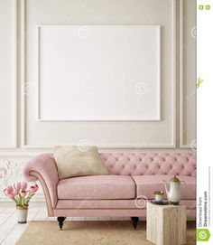 Mock Up Blank Poster On The Wall Of Hipster Living Room, - Download From Over 53 Million High Quality Stock Photos, Images, Vectors. Sign up for FREE today. Image: 73656261