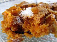 cousas de milia: Tarta de zanahoria y calabaza