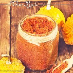 Fall in love with these awesome homemade sugar scrub recipes on the blog. An all natural and affordable way to pamper yourself! Vanilla Pumpkin, Caramel Vanilla, and Apple Cinnamon!