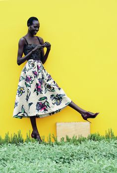 Ajak Deng by Julia Noni for Neiman Marcus | Nìxí Magazine