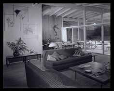 Circa 1955 Midcentury Post and Beam In Fryman Canyon. Browse inspirational photos of modern homes. From midcentury modern to prefab housing and renovations, these stylish spaces suit every taste. Post And Beam, Studio City, Prefab Homes, Midcentury Modern, Mid Century, Contemporary, Modern Interiors, Furniture, Arrow