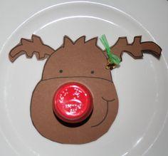 Rudolph met Danoontje neus (of babybel)