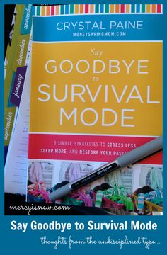 Say Goodbye to Survival Mode {Book Recommendation}