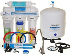 5 Stage Reverse Osmosis Home Purified Drinking Water Filteration System Faucet #iSpring