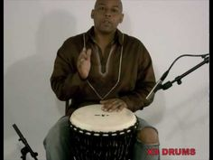 Djembe Rhythm Mendiani - Lesson by Dion Rivers and X8 Drums