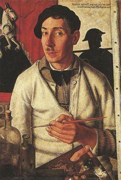"vcrfl: "" Dick Ket: Self-portrait 1933. """