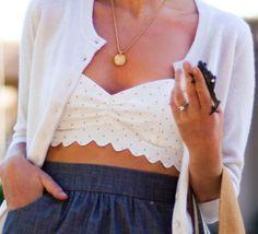 scallop fashion