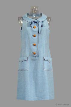 "Catherine Deneuve - ""Les parapluies de Cherbourg"" (1964) - Costume designer : Arlette Nastat"