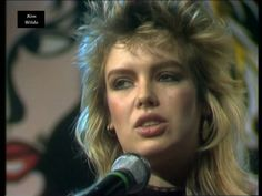 HQ-Video. Kim Wilde - Cambodia (1981). Audio-CD-Sound versehen mit Video-Material aus TV-Show. Sound replaced by audio-cd-sound. Full song.