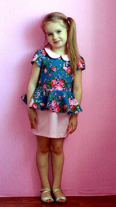 vestido del patrón con los vascos para niñas | ataúd