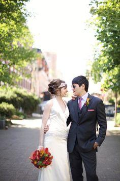 Real Wedding: Erin and Jason's Vancouver Wine Bar Wedding