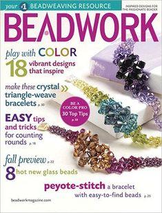 2010 Aug-Sep - BEADWORK magazine Volume 13 Number 5 (Used) at Sova-Enterprises.com