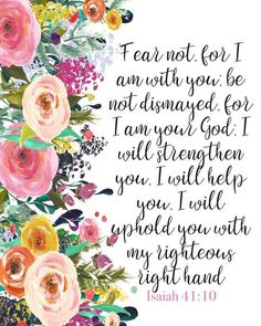 "You need to know that God Not man is your strength in times of trouble. ""For I am your God"" Isaiah Scripture Verses, Bible Verses Quotes, Bible Scriptures, Faith Quotes, Bible Verses For Strength, Praise God Quotes, Heart Quotes, Encouragement Scripture, Healing Scriptures"