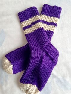 Casual Knit Socks by bricoknits on Etsy