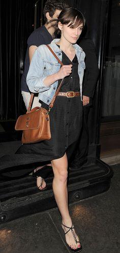 Keira Knightley with the Bryn in Oak.