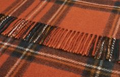 Pure Wool Antique Royal Stewart Tartan Throw 140x180 cms - Wool Tartan Throws 140x180 cms - Shop By Size Sofa Throws