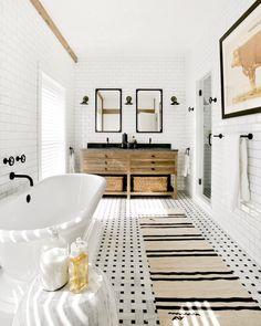 Bathroom floor option