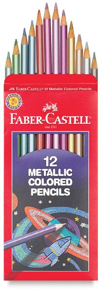 metallic colored pencils - because sometimes you need a little sparkle!