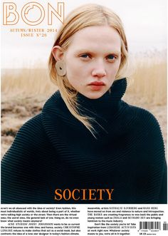 Bon A/W 2014 | Holly Rose Emery by Tung Walsh #Covers2014