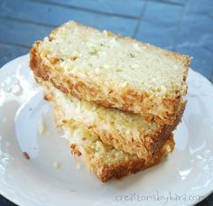 Pina Colada Zucchini Bread - Very good and moist. Used bananas instead of eggs and used coconut oil.  Didn't have coconut extract but would like to use it next time.