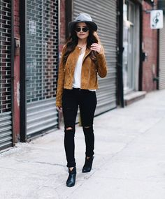 NEW on celebspiration.com -- I recreated a look from the always amazing @ninadobrev , go see how I got her recent NYC look for less  // - @moderngypsymedia