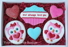 OMG! So cute!! by Tickled Pink Cookie Boutique