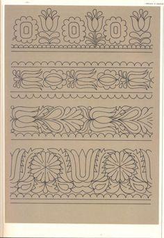 (5) Gallery.ru / Фото #109 - Slovenska ludova vysivka - Helena10 Zardozi Embroidery, Hand Embroidery Patterns, Diy Embroidery, Machine Embroidery, Embroidery Designs, Hungarian Embroidery, Cross Stitch Borders, Doodle Designs, Sewing Art